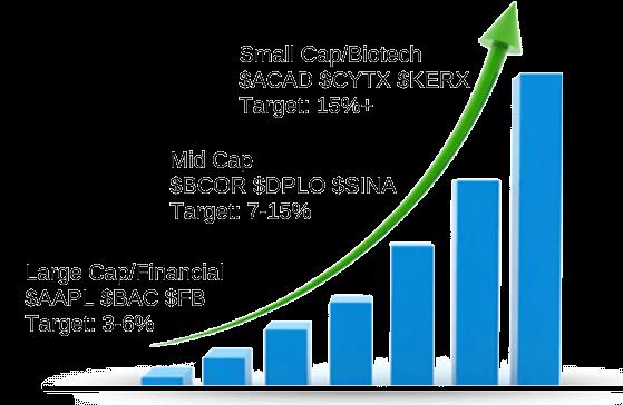stock profit graph